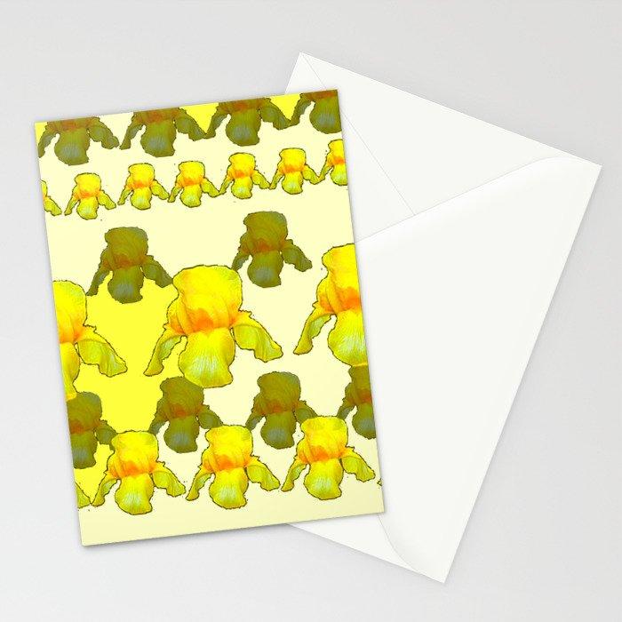 YELLOW IRIS FIELDS Stationery Cards