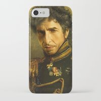 dylan iPhone & iPod Cases featuring Bob Dylan - replaceface by replaceface
