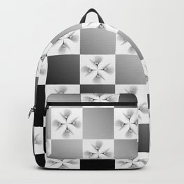 Pussy Checkerboard Abstract Backpack