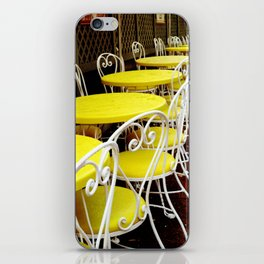 Outdoor Cafe iPhone Skin