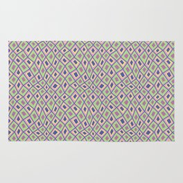 Diamonds are Forever-Coolio Colors Rug