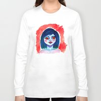 creepy Long Sleeve T-shirts featuring Creepy by Alex Dehoff