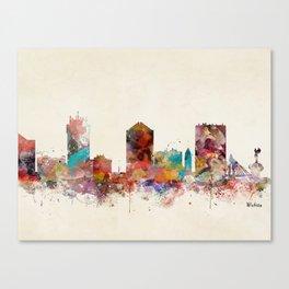 wichita kansas  Canvas Print