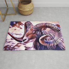 The Bighorn sheep Rug