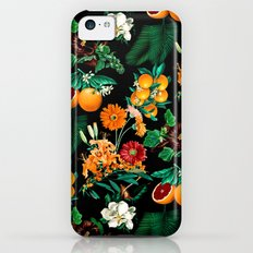 Fruit and Floral Pattern iPhone 5c Slim Case
