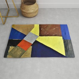 13,000px,600dpi-Kurt Schwitters - Abstract composition - Digital Remastered Edition Rug