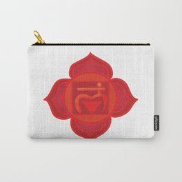 Muladhara Root Red Chakra Carry-All Pouch