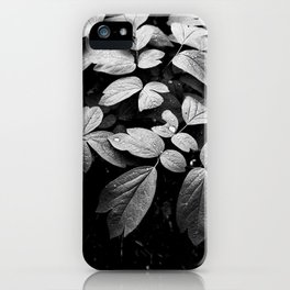 Monochrome Droplet iPhone Case