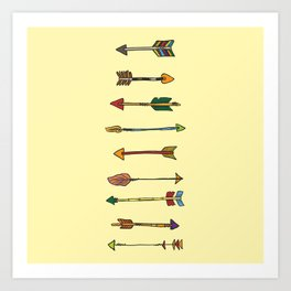 WHICH ROAD? Art Print