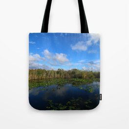 Blue Hour In The Everglades Tote Bag