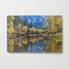 Yosemite Fall Color 11-1-18 Metal Print