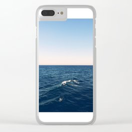 Drifting Clear iPhone Case