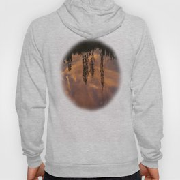 fire in the sky reflection Hoody