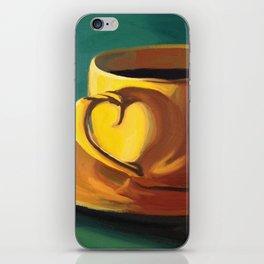 Yellow Java iPhone Skin
