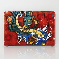 dragon iPad Cases featuring Dragon by Spooky Dooky