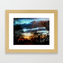 Leading Me Home Framed Art Print