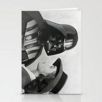 casablanca Stationery Cards featuring Darth Vader in Casablanca by Luigi Tarini