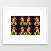 actor Framed Art Prints featuring Chinese Opera Actor. by Ian Gledhill