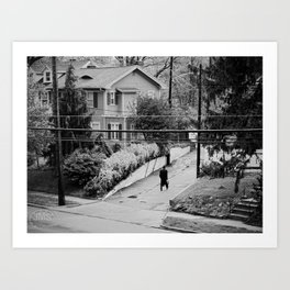 Grand Avenue View Art Print