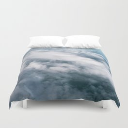 Clouds Skyscape   Sunset   Nature   Heaven   Water Duvet Cover
