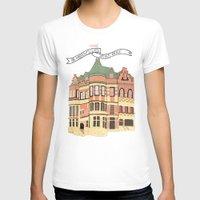 archer T-shirts featuring Archer Avenue by Nan Lawson