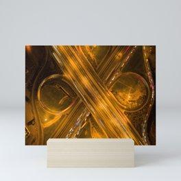 Simetría en la noche Mini Art Print