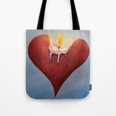 Burning Passion Tote Bag