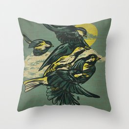 The Gatherers Throw Pillow
