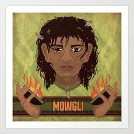 Mowgli Art Print