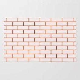 Copper Subway Tiles Rug