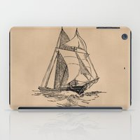 sailing iPad Cases featuring Sailing by Texnotropio