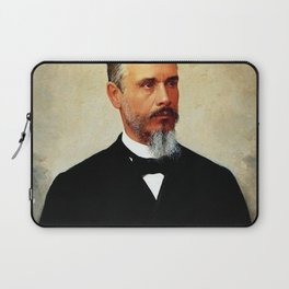 Jose Ferraz de Almeida Júnior - Portrait of Bernardino de Campos Laptop Sleeve