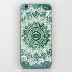 BOHOCHIC MANDALA IN MINT iPhone & iPod Skin