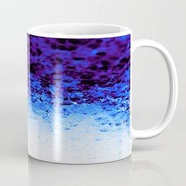 Indigo Blue Ombre Crystals Coffee Mug