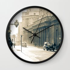 Old street that vanishes Wall Clock