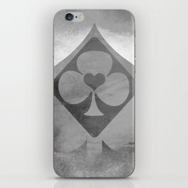 Full of Aces (Grey Version) iPhone Skin