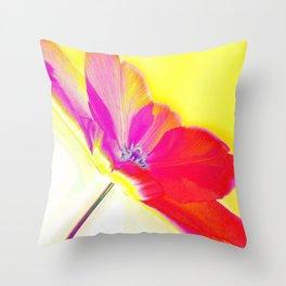 Spring Abstract Throw Pillow