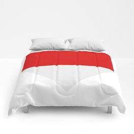 flag of indonesia Comforters