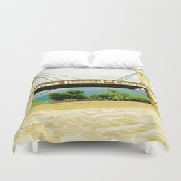 The Chicamocha National Park. Duvet Cover