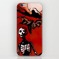 Wandering Skull iPhone & iPod Skin