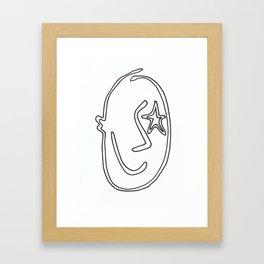 The Smiler Framed Art Print