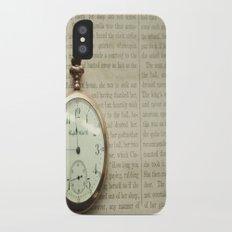 Just Before Midnight: Cinderella Slim Case iPhone X