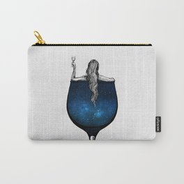 Wine night. Carry-All Pouch