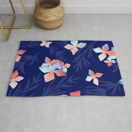 Flowers of the Night Rug