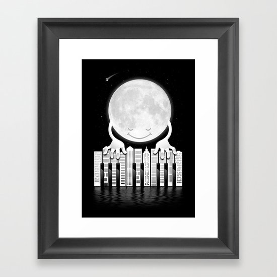 City Tunes Framed Art Print