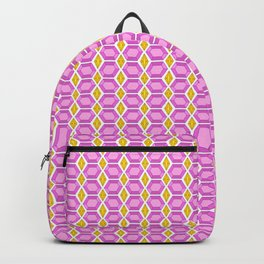 Tourmaline Gemstone with Gold Accent Pattern Backpack