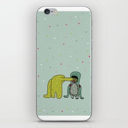 I like you so much I could eat you! iPhone Skin