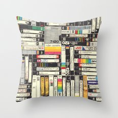 VHS Throw Pillow