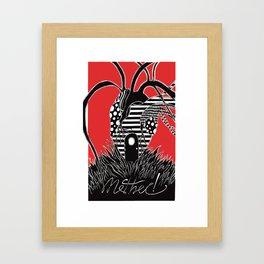 mother! - Alternative Movie Poster Framed Art Print