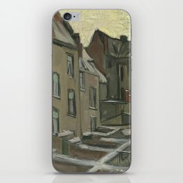 Houses Seen from the Back iPhone Skin